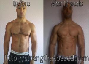 Paleo Bodybuilding 12 Week Transformation RESULTS